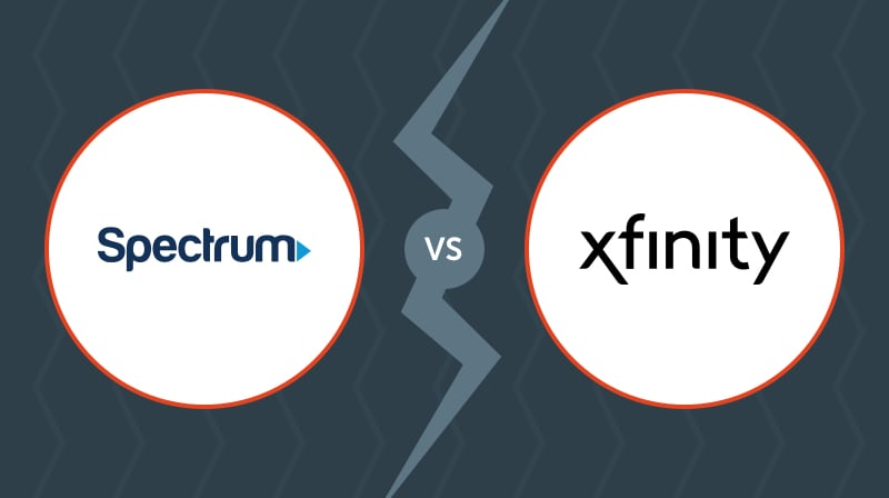 spectrum vs xfinity internet