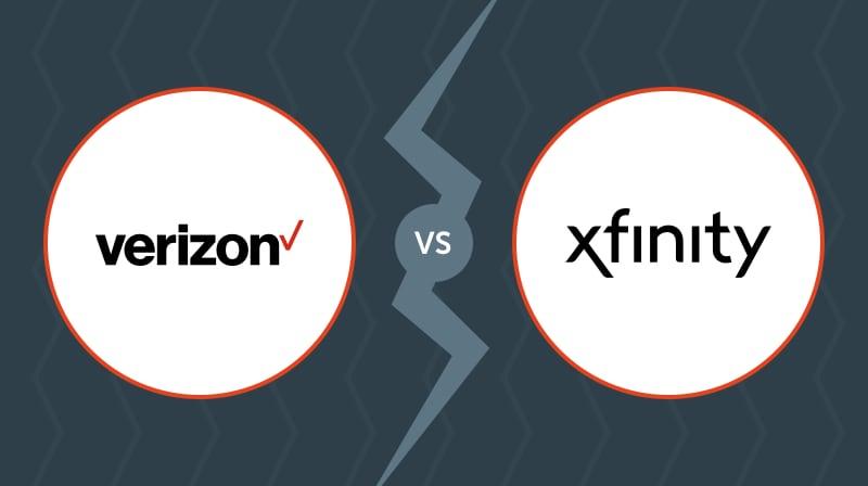 Verizon Versus Xfinity Image