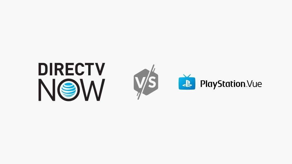 DIRECTV NOW vs  Playstation Vue | HighSpeedInternet com