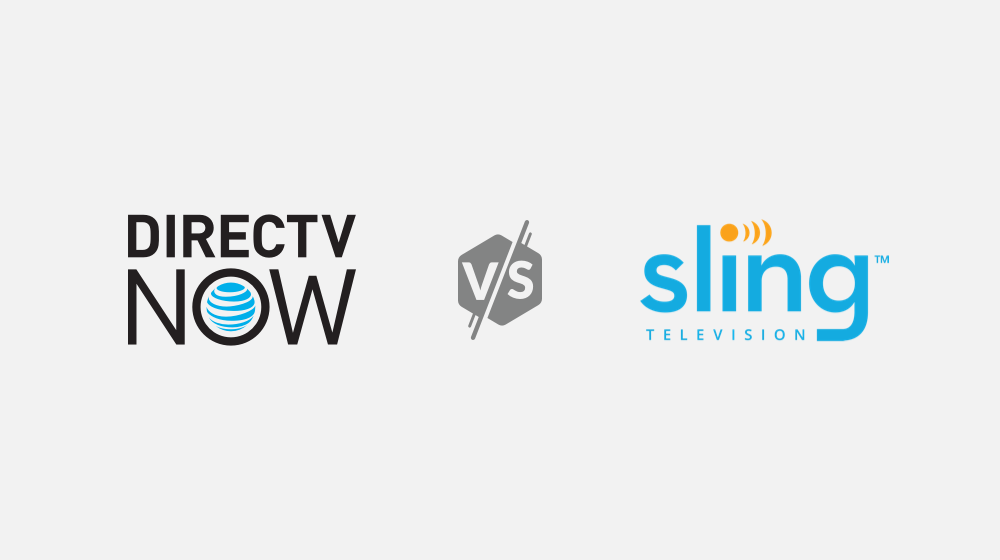 DirecTV Now Vs Sling TV