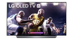 LG 65 C8P OLED TV Image