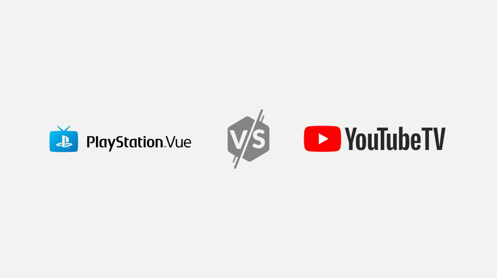 PlayStation Vue Vs. YouTubeTV Image