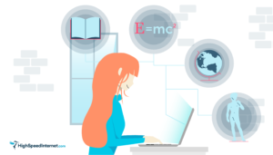 Student internet scholarship image