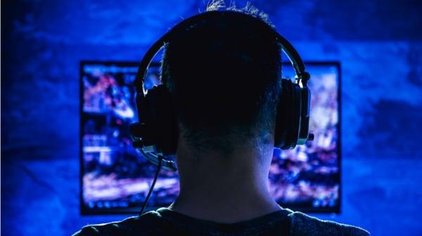 gaming headset lifestyle photo