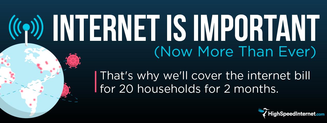 Internet Giveaway Banner