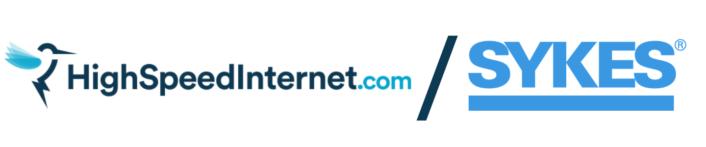 HighSpeedInternet and Sykes Logos