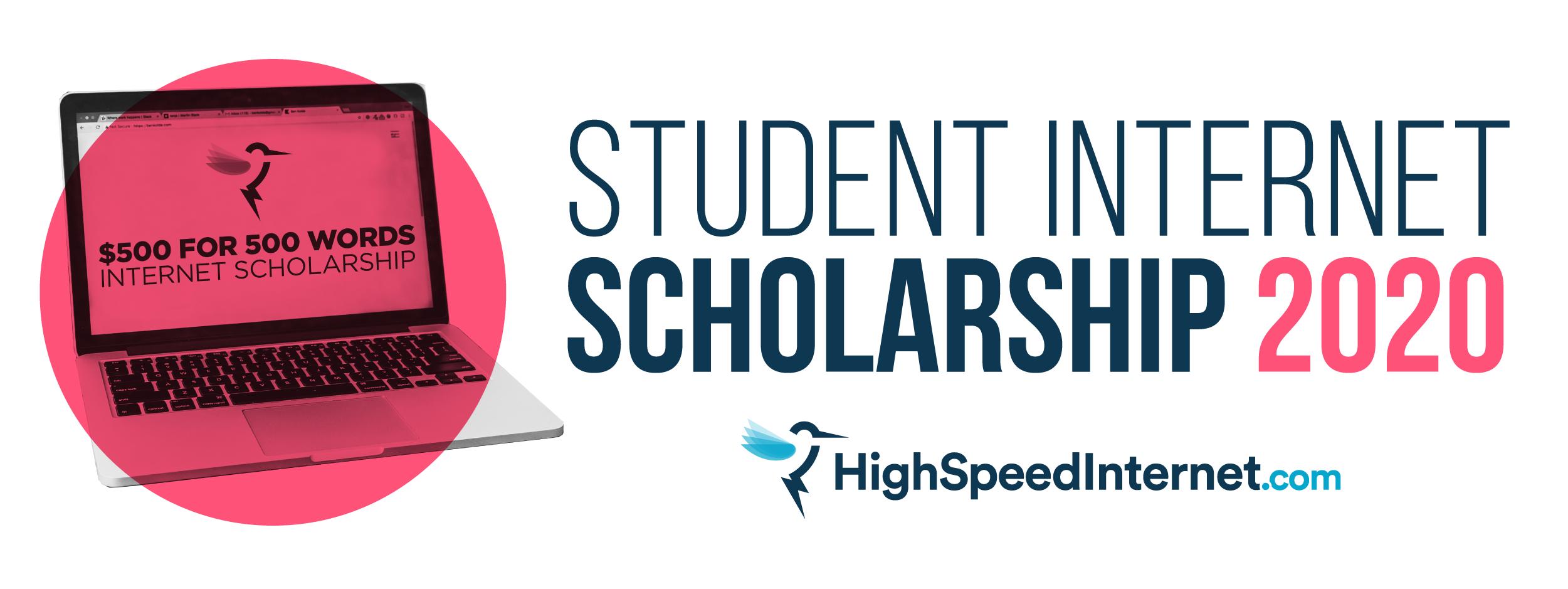 HighSpeedInternet.com internet scholarship 2020
